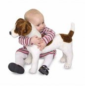 Melissa and Doug Jack russell terrier mjukisdjur