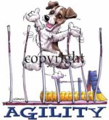 Jack russell terrier agility 1 t-shirt McCartney