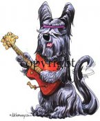 Skyeterrier calendar out takes t-shirt McCartney