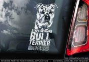 Staffordshire bullterrier bildekal 2 - on board