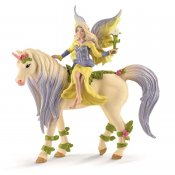 Schleich Fairy Sera with blossom unicorn