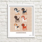 coonhound tavla
