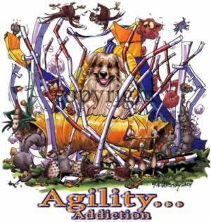 Golden retriever agility 3 t-shirt McCartney