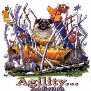 Mops agility 2 t-shirt McCartney