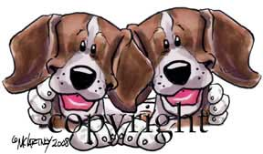 Beagle buddies t-shirt McCartney
