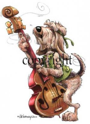 Otterhound calendar out takes t-shirt 2 McCartney