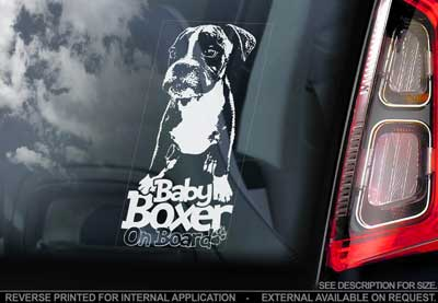 Boxer bildekal V3 - on board