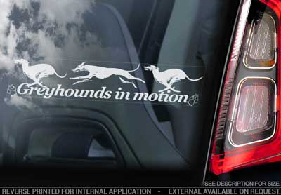 Greyhound bildekal V3 - on board