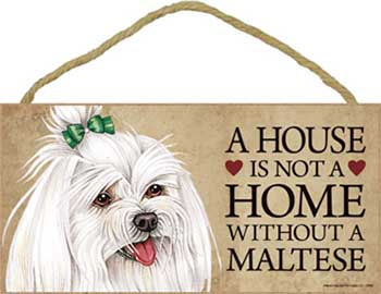 Malteser skylt A house is not a home 2 - Great