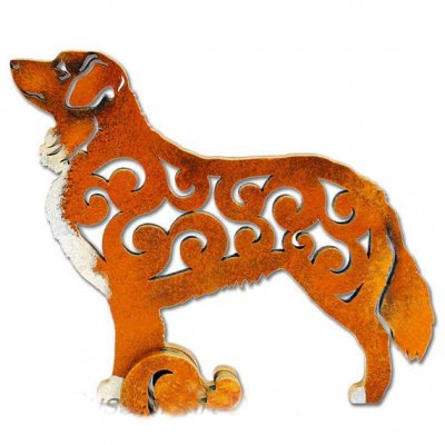 Nova scotia duck tolling retriever figurin