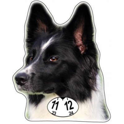 Border collie p-skiva parkeringsskiva