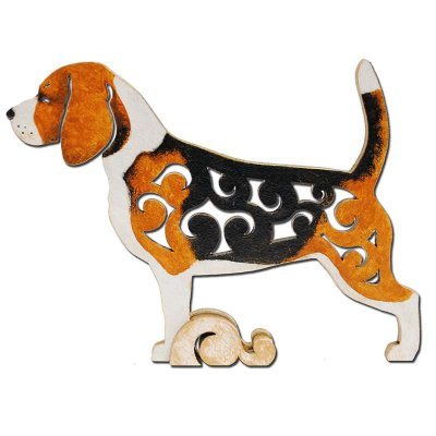 Beagle figurin